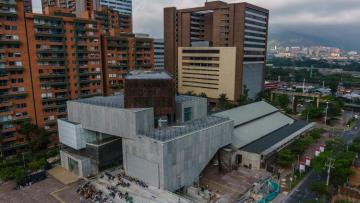 El museo de arte moderno de Medellín que va a ser el lugar de encuentro